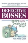 "Image for Defective Bosses : Working for the ""Dysfunctional Dozen"""