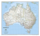 Image for Australia Classic, Tubed : Wall Maps Continents