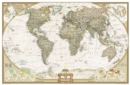 Image for World Executive, Enlarged &, Tubed : Wall Maps World