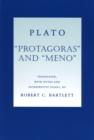 """Image for """"Protagoras"""" and """"Meno"""""""