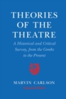 Image for Theories of the Theatre : A Historical and Critical Survey, from the Greeks to the Present