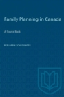 Image for Family Planning in Canada : A Source Book