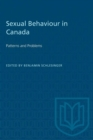 Image for Sexual Behaviour in Canada : Patterns and Problems
