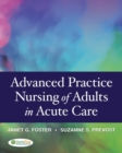Image for Advanced Practice Nursing of Adults in Acute Care 1e