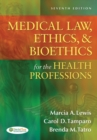 Image for Medical law, ethics & bioethics for the health professions