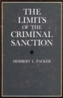 Image for The limits of the criminal sanction