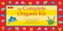 Image for The Complete Origami Kit : Kit with 2 Origami How-to Books, 98 Papers, 30 Projects: This Easy Origami for Beginners Kit is Great for Both Kids and Adults