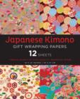 Image for Japanese Kimono Gift Wrapping Papers 12 Sheets : High-Quality 18 x 24 inch (45 x 61 cm) Wrapping Paper