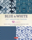 Image for Blue & White Gift Wrapping Papers 12 Sheets : High-Quality 18 x 24 inch (45 x 61 cm) Wrapping Paper