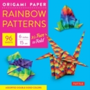 Image for Origami Paper : Rainbow Patterns