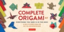 Image for The Complete Origami Kit : Everything You Need Is in This Box! [Origami Kit with 2 Books, 96 Papers, 30 Projects]