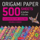 """Image for Origami Paper 500 Sheets Kaleidoscope Patterns 6"""" (15 CM) : 12 Double-Sided Designs"""