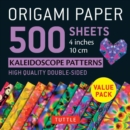 Image for Origami Paper 500 sheets Kaleidoscope Patterns 4 (10 cm)