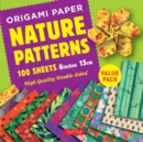 Image for Origami Paper 100 sheets Nature Patterns 6 inch (15 cm) : High-Quality Origami Sheets Printed with 8 Different Designs : Instructions for 8 Projects Included