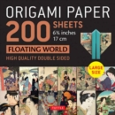 """Image for Origami Paper 200 sheets Floating World 6 3/4"""" (17 cm) : Tuttle Origami Paper: High Quality, Double-Sided Origami Sheets with 12 Different Prints (Instructions for 6 Projects Included)"""