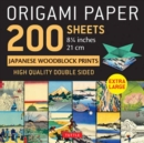 """Image for Origami Paper 200 sheets Japanese Woodblock Prints 8 1/4"""" : Extra Large Tuttle Origami Paper: High-Quality Double Sided Origami Sheets Printed with 12 Different Prints (Instructions for 6 Projects Inc"""