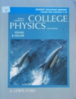 Image for College Physics : v. 2 : Student Solutions Manual : Chapters17-30