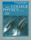 Image for College Physics : v. 1 : Student Solutions Manual : Chapters 1-16