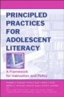 Image for Principled practices for adolescent literacy  : a framework for instruction and policy