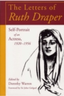 Image for The Letters of Ruth Draper : Self-portrait of an Actress, 1920-56