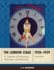 Image for The London Stage 1920-1929 : A Calendar of Plays and Players
