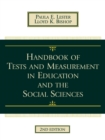 Image for Handbook of tests and measurement in education and the social sciences