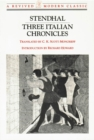Image for Three Italian Chronicles: Stories