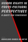 Image for Human rights in cross-cultural perspectives: a quest for consensus