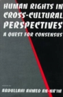 Image for Human rights in cross-cultural perspectives  : a quest for consensus