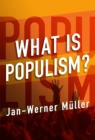 Image for What is populism?