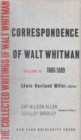 Image for The Correspondence of Walt Whitman (Vol. 5)
