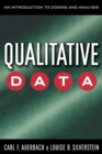 Image for Qualitative Data : An Introduction to Coding and Analysis