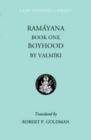 Image for Ramayana Book One : Boyhood