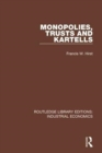 Image for Monopolies, trusts and kartells