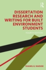 Image for Dissertation research and writing for built environment students