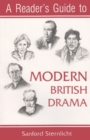 Image for A Reader's Guide to Modern British Drama