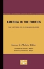 Image for America in the Forties : The Letters of Ole Munch Raeder