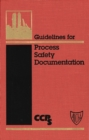 Image for Guidelines for Process Safety Documentation