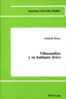 Image for Villasandino y Su Hablante Lirico