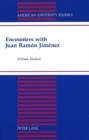 Image for Encounters with Juan Ramon Jimenez