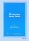 Image for Rethinking Peter Weiss