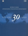 Image for World Bank Operations Evaluation Department : The First 30 Years