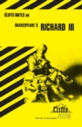 """Image for Notes on Shakespeare's """"King Richard III"""""""