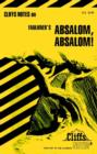 "Image for Notes on Faulkner's ""Absalom, Absalom!"""