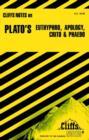 "Image for Notes on Plato's ""Euthyphro"", ""Apology"", ""Crito"" and ""Phaedo"""