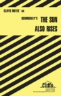 "Image for Notes on Hemingway's ""Sun Also Rises"""