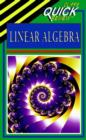 Image for Quick Review Linear Algebra