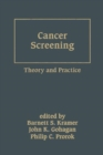 Image for Cancer Screening : Theory and Practice