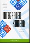 Image for Integrated Korean : Beginning 1 book