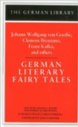 Image for German Literary Fairy Tales